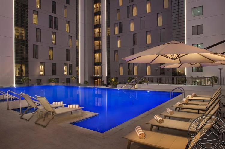 HILTON HAMPTON DUBAI 3 * - Dubajus, JAE