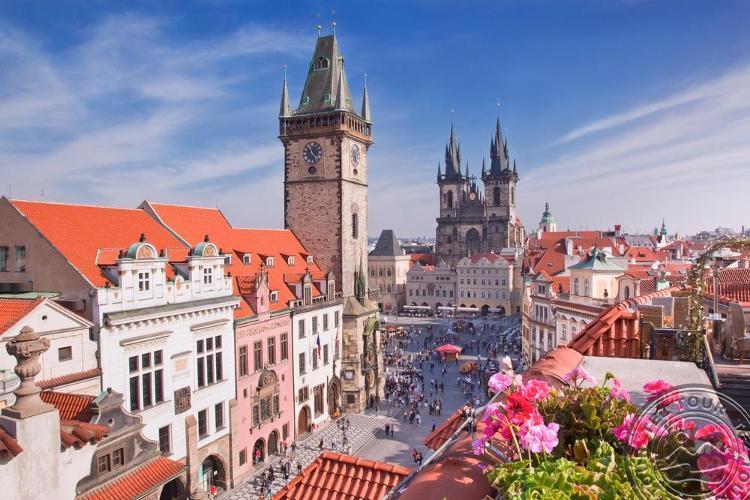 Prague-cesky Krumlov-hluboka Nad Vltavou, Htl Novotel Praha Wenceslas Square 4 * - Экскурсионные туры, Чехия