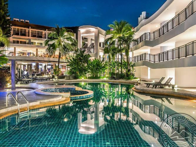 NOVOTEL PHUKET KARON BEACH RESORT AND SPA 4 * - Tailandas