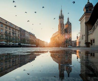 Киев - Краков, Польша