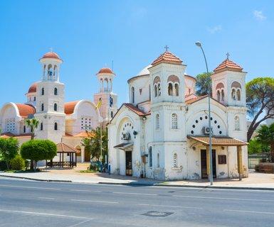 Киев - Ларнака, Кипр