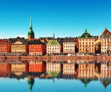 Киев - Стокгольм, Швеция