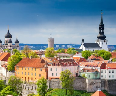 Киев - Таллин, Эстония