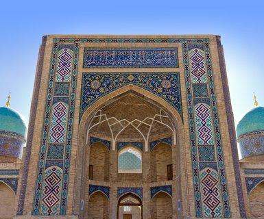Rīga - Taškenta, Uzbekistāna