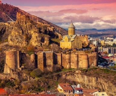 Rīga - Tbilisi, Gruzija