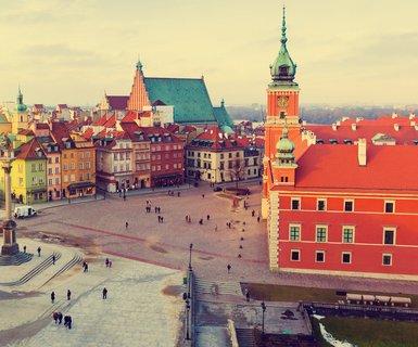 Киев - Варшава, Польша